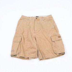 Vintage Ralph Lauren Box Logo Faded Cargo Shorts